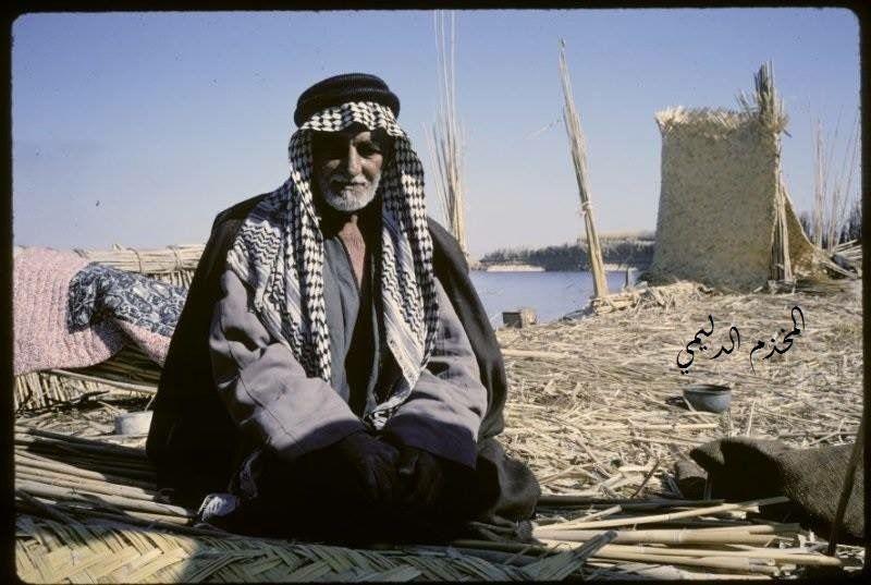 رجل كبير في السن من الجنوب العراقي في ستينات القرن الماضي Baghdad Iraq Photo Baghdad