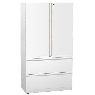 Rebrilliant Ber 2 Door Storage Cabinet Door Storage Storage Adjustable Shelving