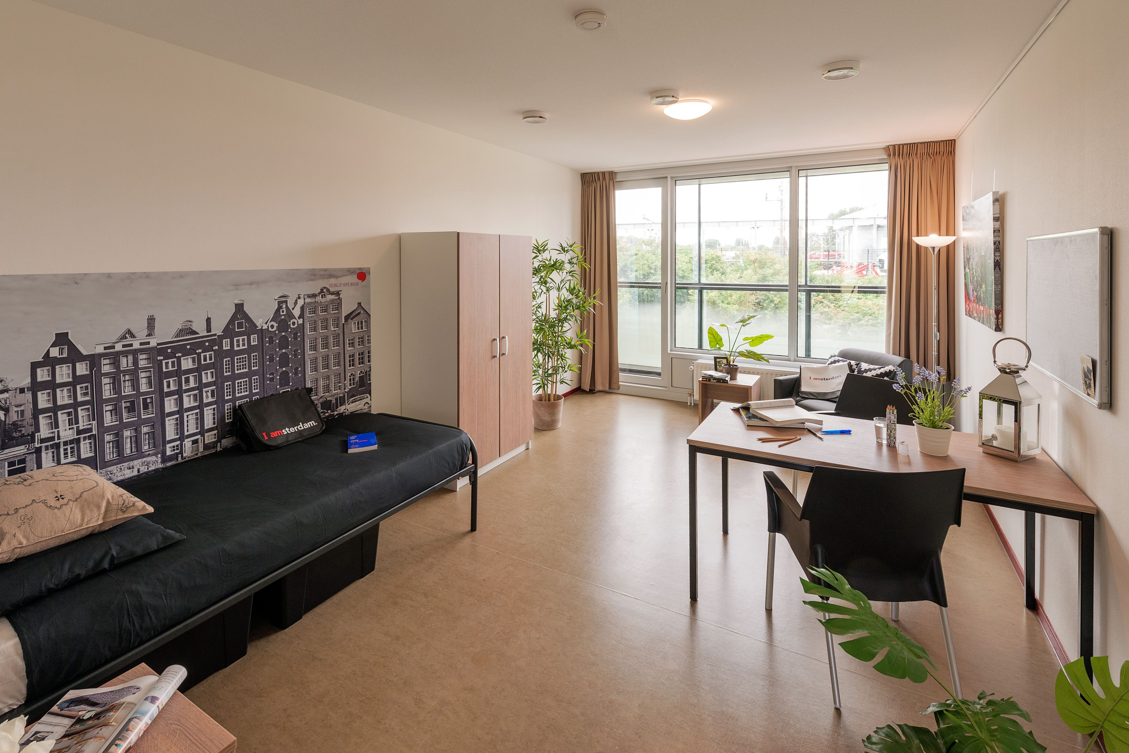 2 Slaapkamer Appartement Amsterdam Studenten Duwo Student Housing At Science Park Ii Carolina Macgillavrylaan