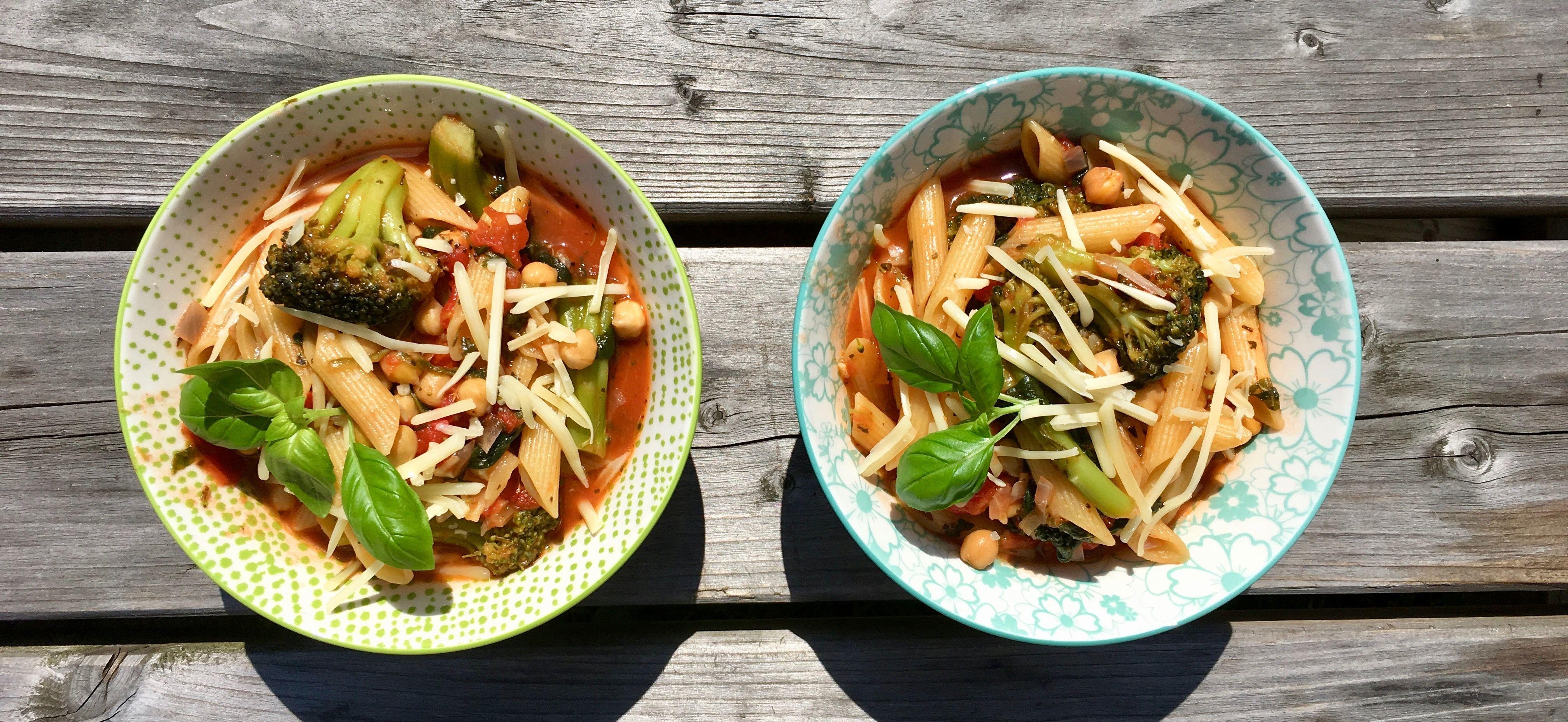 Recept: one pot superpasta (100% bio) - I ♥ Eco