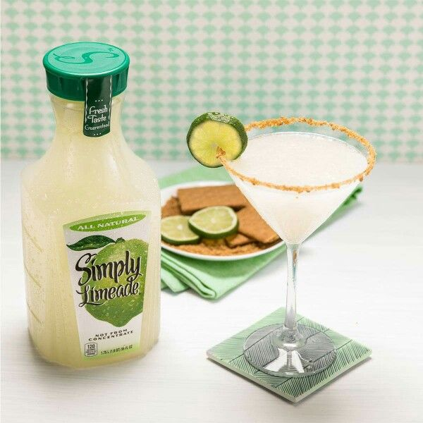 Easy Peasy Key Lime Martini Simply Limeade