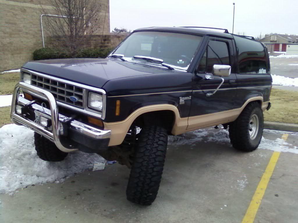 Broncoiiers 1988 Ford Bronco Ii Corral Trucks