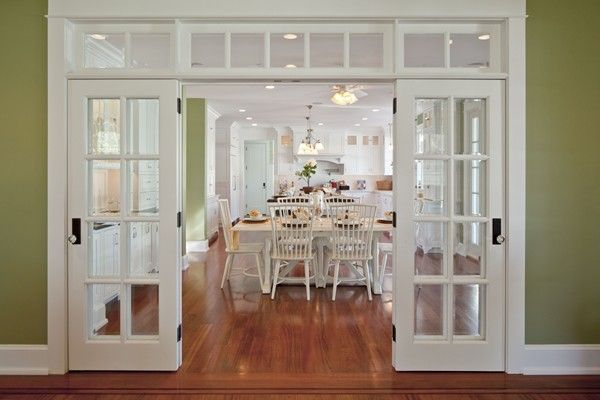 French Doors Separating Kitchen From Living Area French Doors Interior Door Design Interior Doors Interior