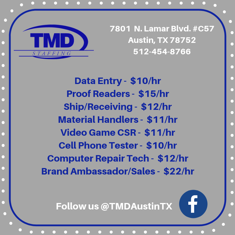 Wednesday Workplace For Austin Tx Wednesday Dataentry Shipping Receiving Teamtmd Proofreader Materialh Wednesday Motivation Computer Repair Data Entry