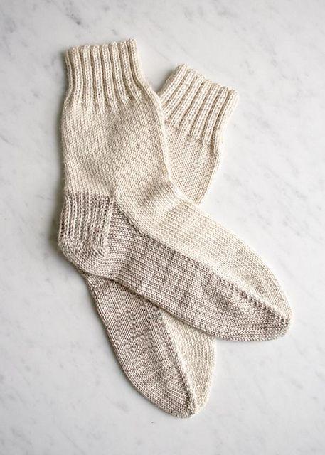 Seamed Socks pattern by Purl Soho | Squishy | Knitting socks