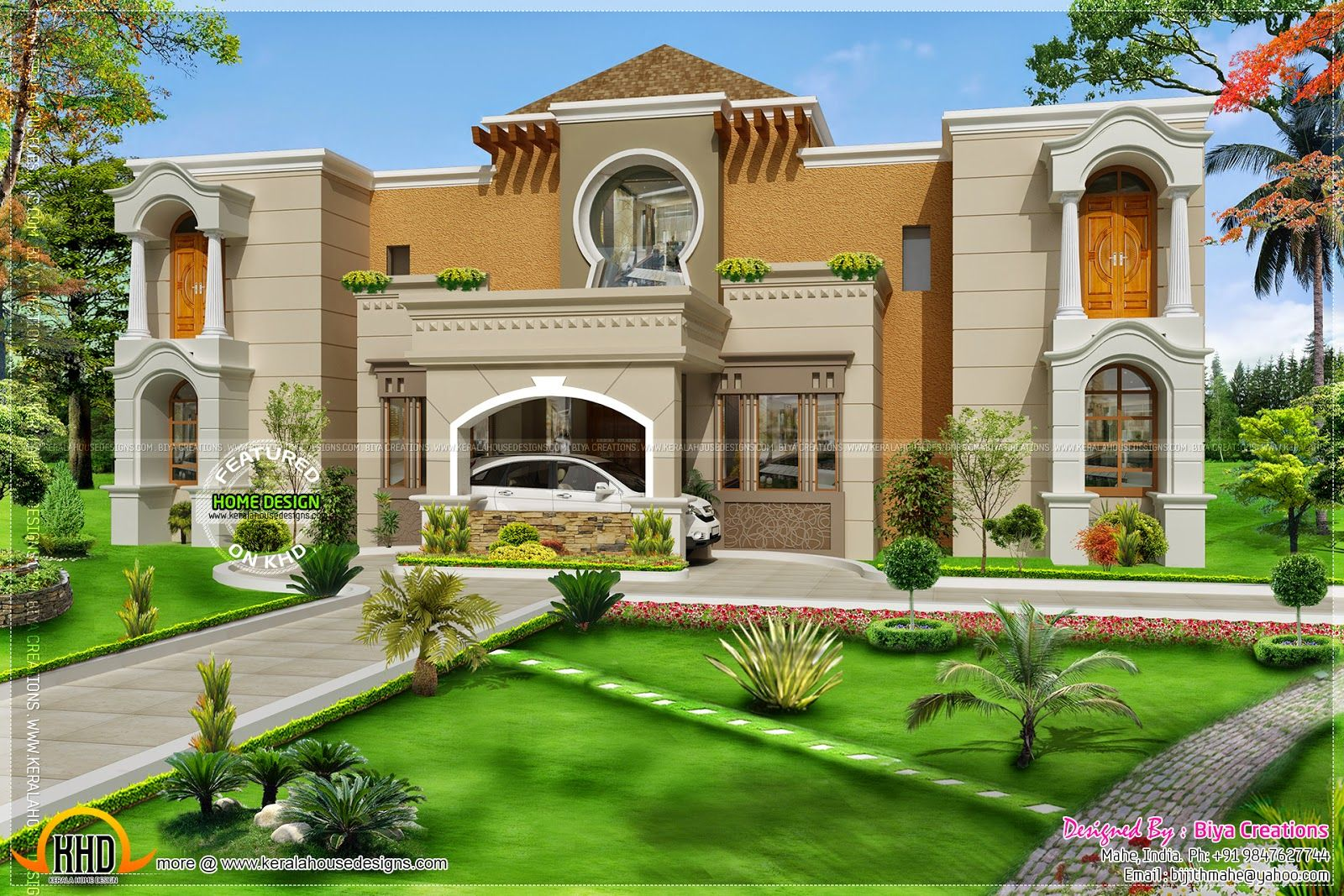 Arabian Villa Rendering - Google Islamic