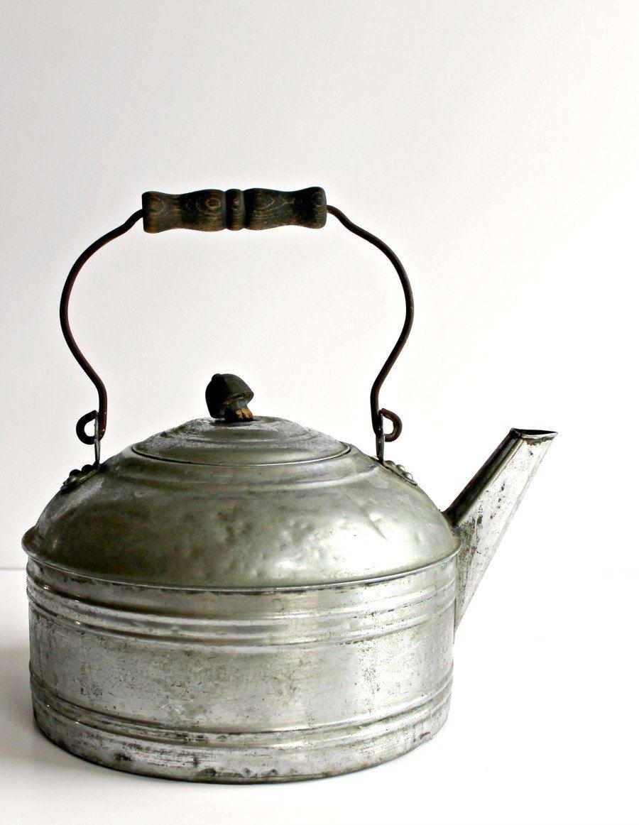 Cast iron kitchen trivet tea pot stand metal hot dish tray cookware - Teapot
