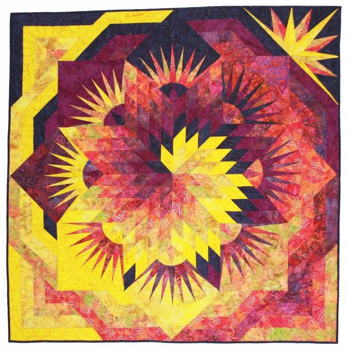 lone star quilt pattern - Google Search | STARS for a quilt ... : spiral quilt - Adamdwight.com