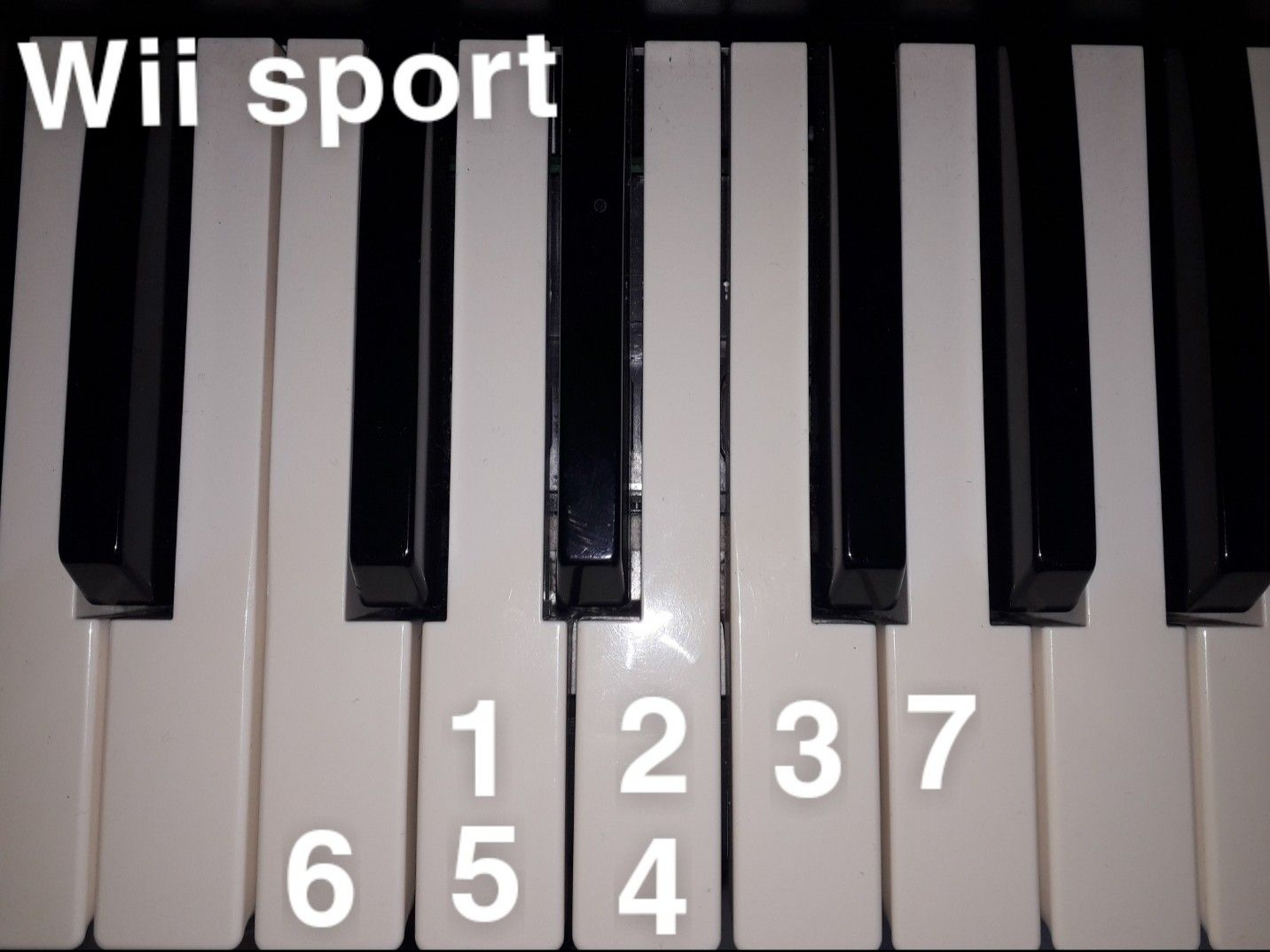 Wii Sport Music Piano Music Easy Easy Piano Songs Piano Notes Songs