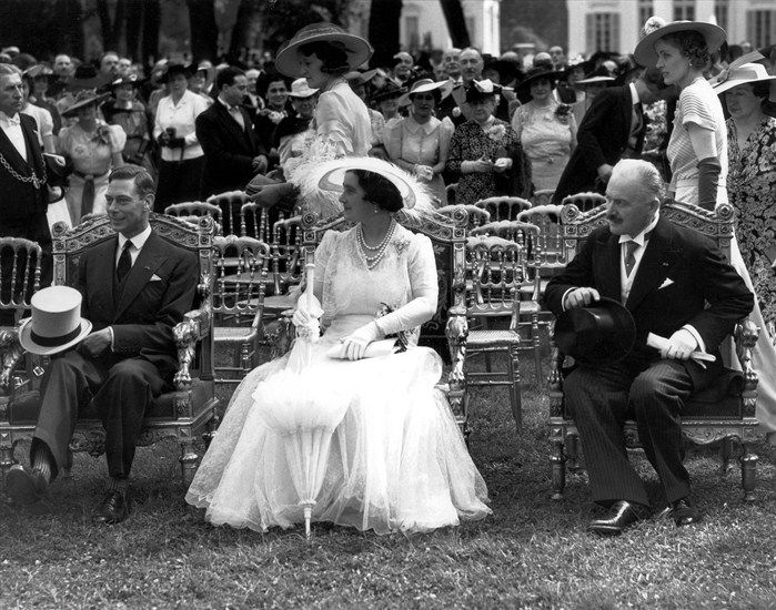 H.M. King VI and H.M. Queen Elizabeth (later H.M