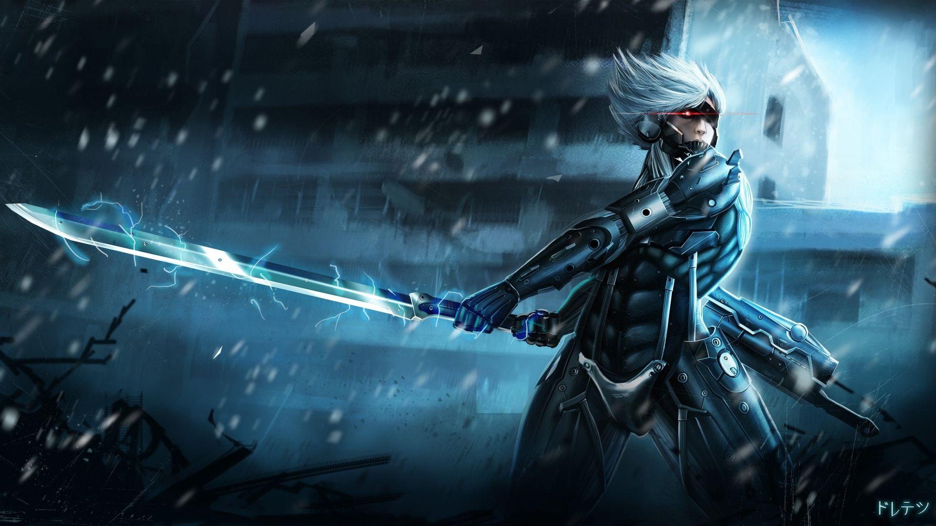Jeux Vidéo Metal Gear Rising Revengeance Fond Décran
