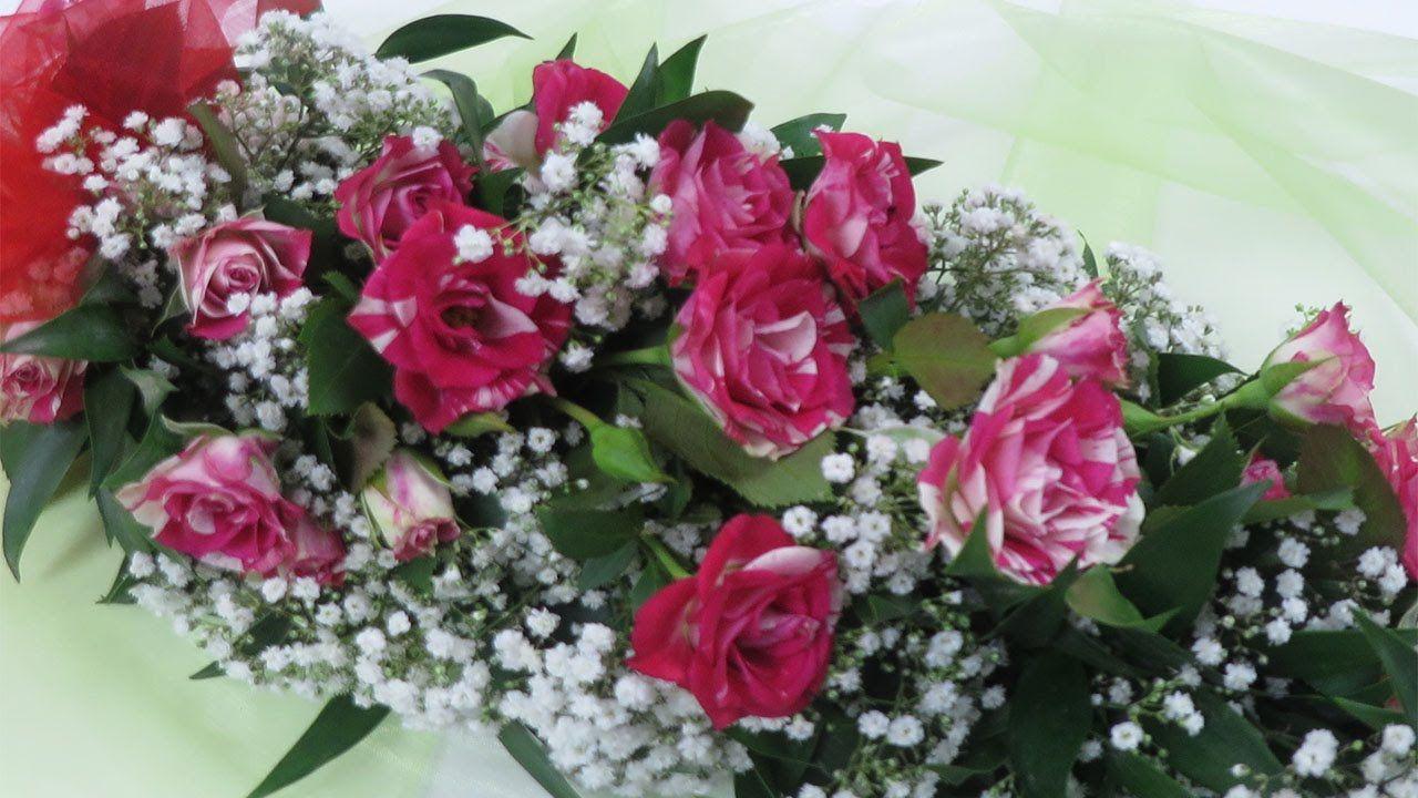 Kranz Binden Hochzeit Material : floristik anleitung blumengirlande binden deko ideen mit flora shop floristik videos diy ~ Avissmed.com Haus und Dekorationen
