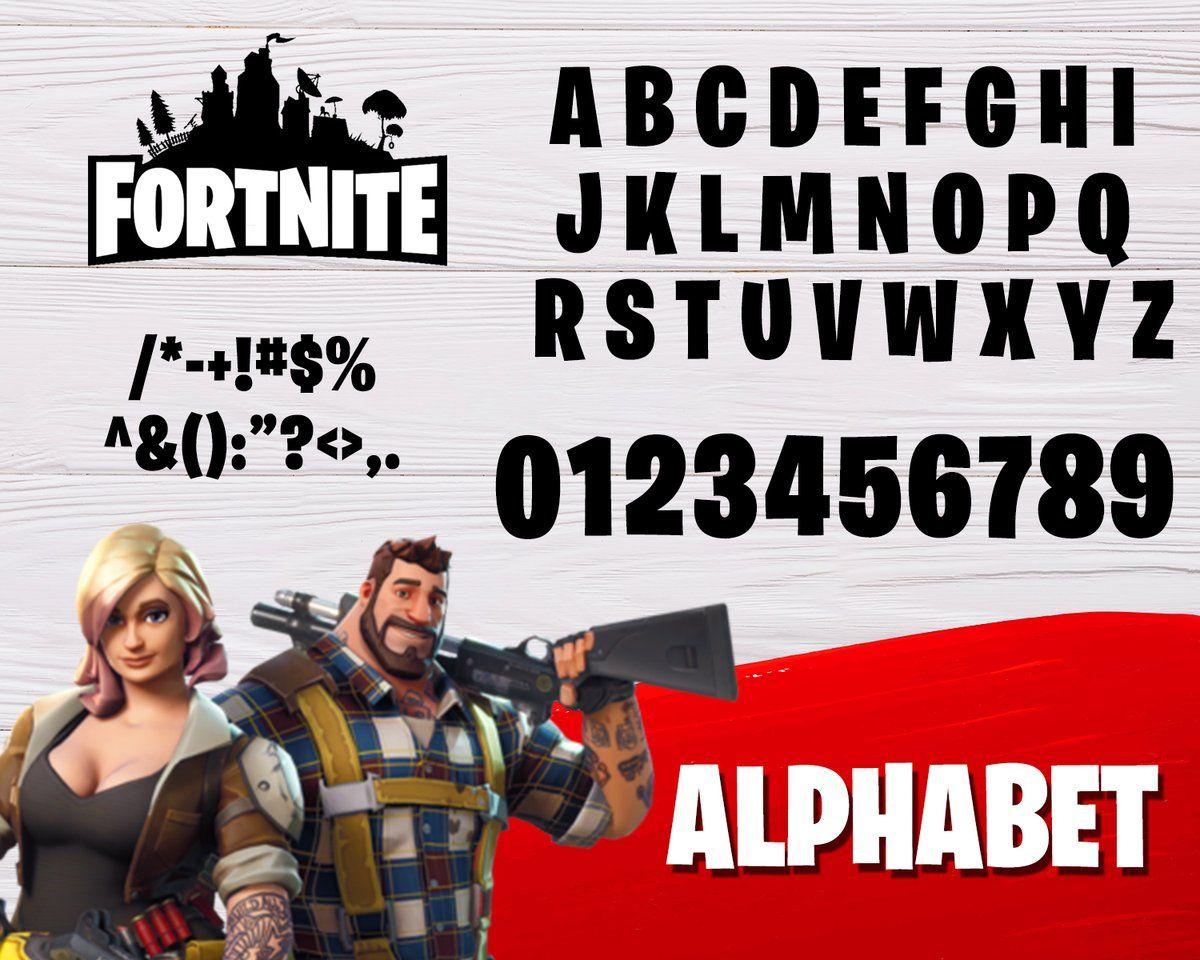 10++ Small letter font for fortnite inspirations