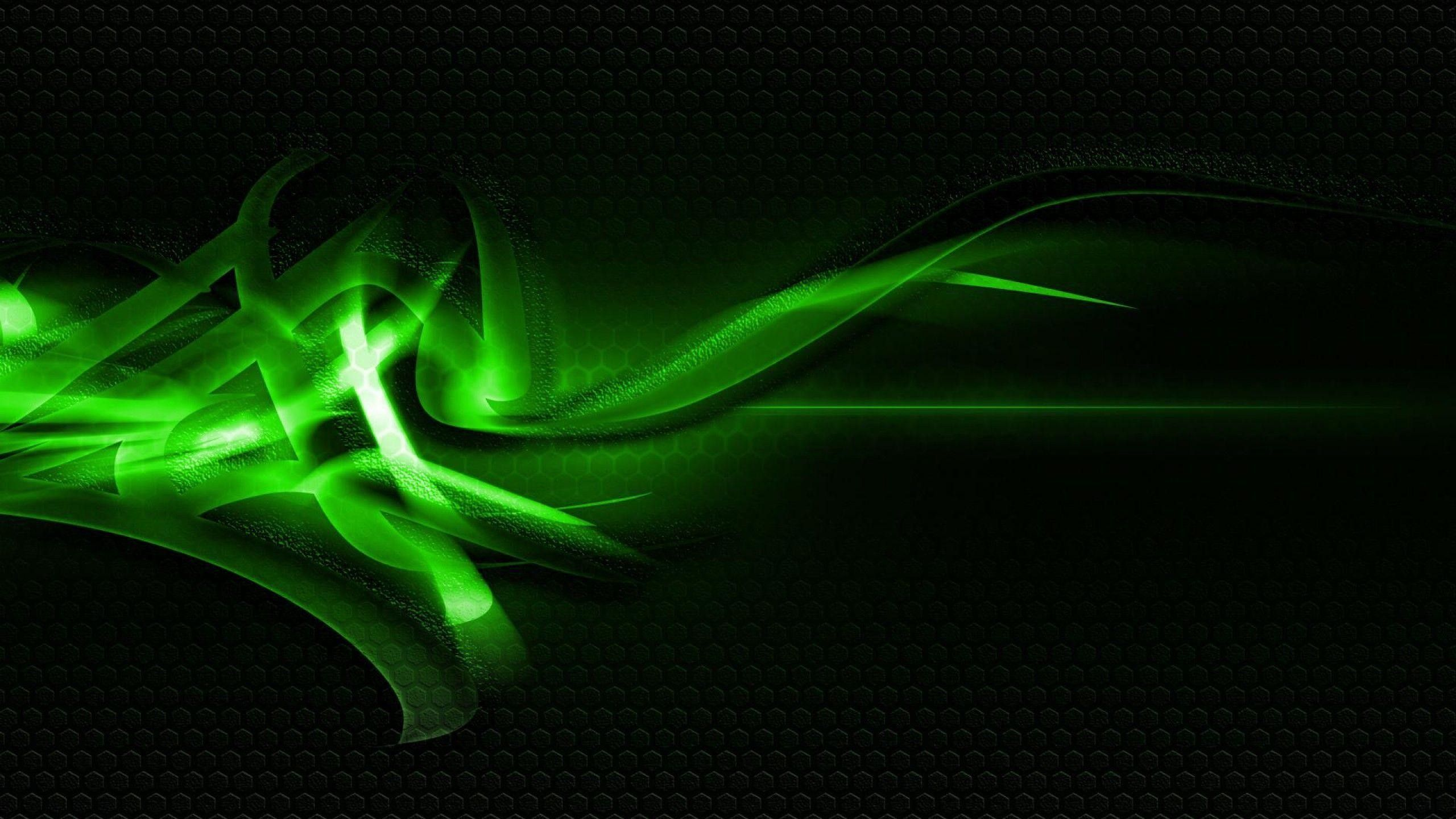 Gorgerous Green And Black Abstract Wallpaper 2560x1440 For Mobile Hd Abstract Art Wallpaper Green Abstract Art Black Abstract Wallpaper