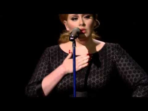 Adele I Can T Make You Love Me Live Music Music Love