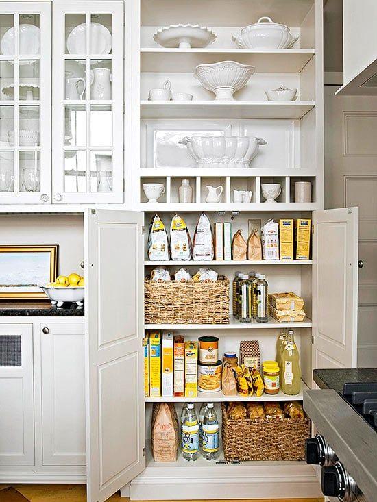 Ziemlich Küchendesign Mit Inseln Und Speisekammer Fotos ...