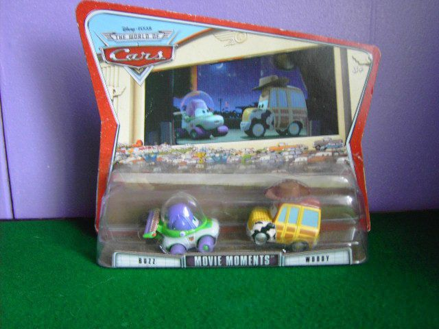 Disney Cars Movie Moments Buzz and Woody Cars BNIP