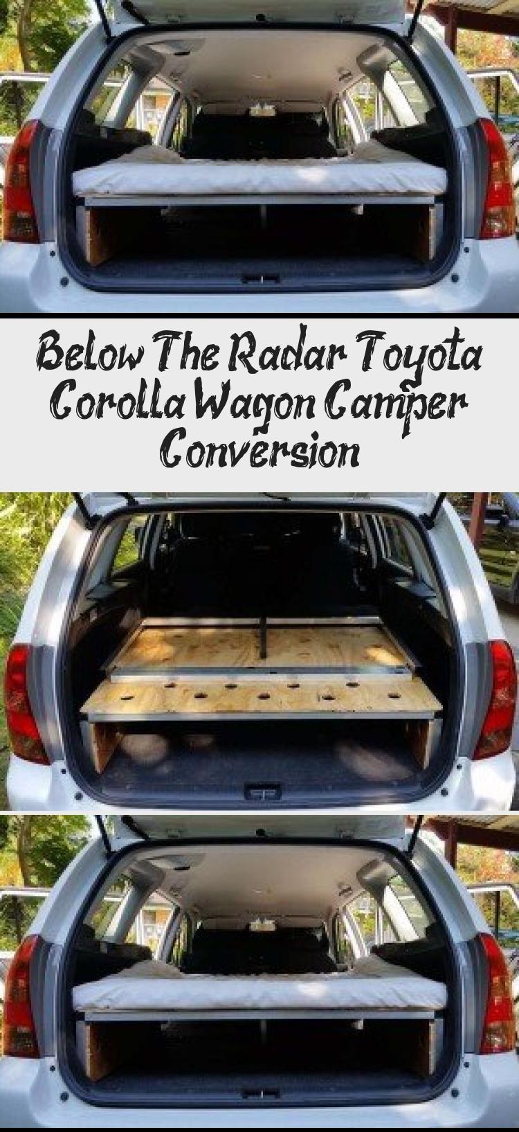 Below The Radar Toyota Corolla Wagon Camper Conversion Cars In 2020 Toyota Corolla Corolla Wagon Camper Conversion
