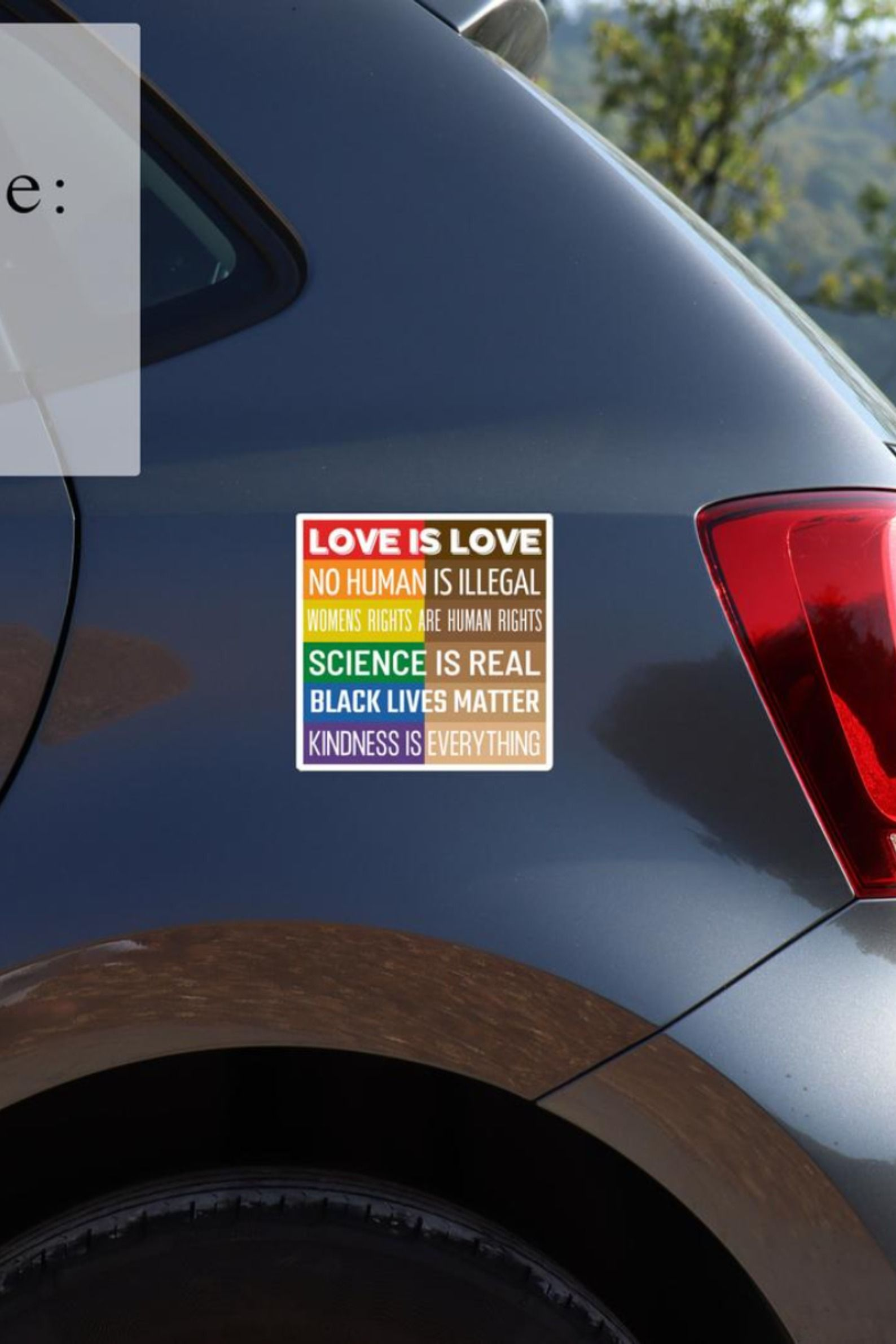 Magnetic Bumper Sticker Science Is Real Black Lives Matter Etsy Bumper Stickers Car Magnets Bumper Stickers Magnetic Bumper Stickers