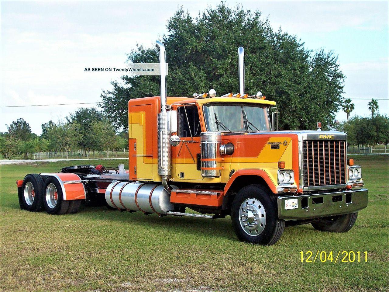 Gmc General Custom Trucks Big Trucks Gmc Trucks