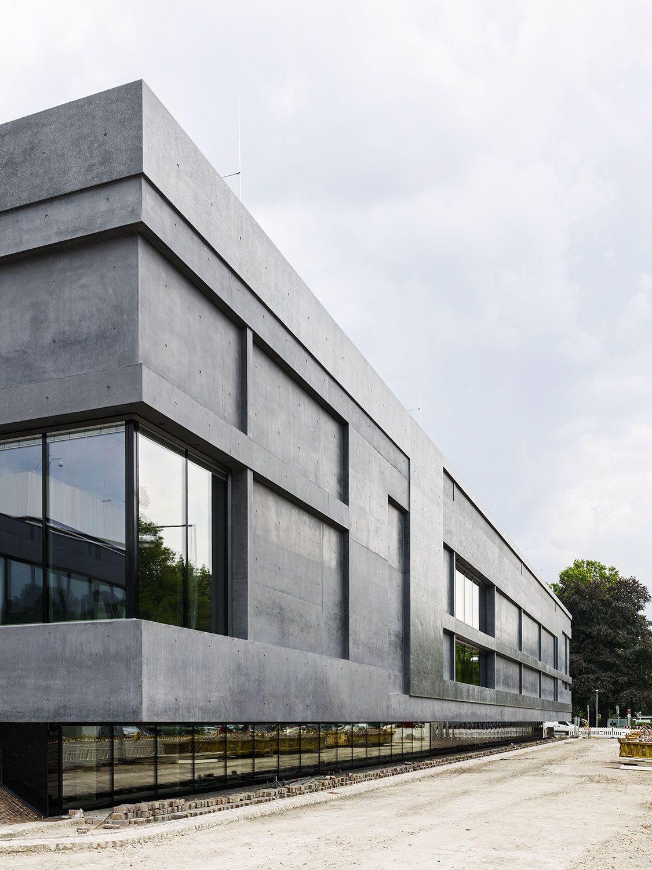 Architekt Hannover neo brutalismus in hannover museumserweiterung meili