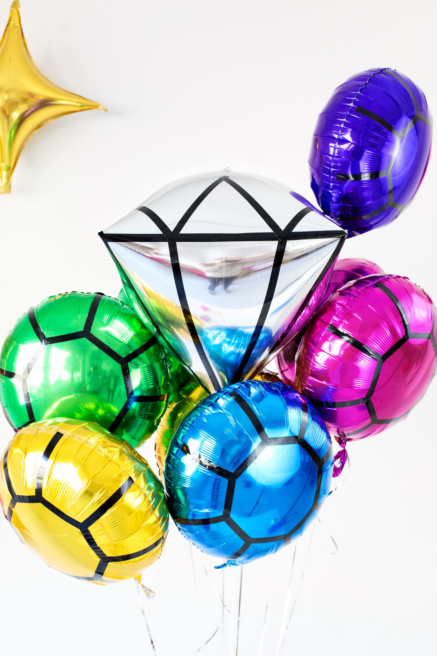 Diy gem balloons each ballon you make can represent the for What can you make with balloons