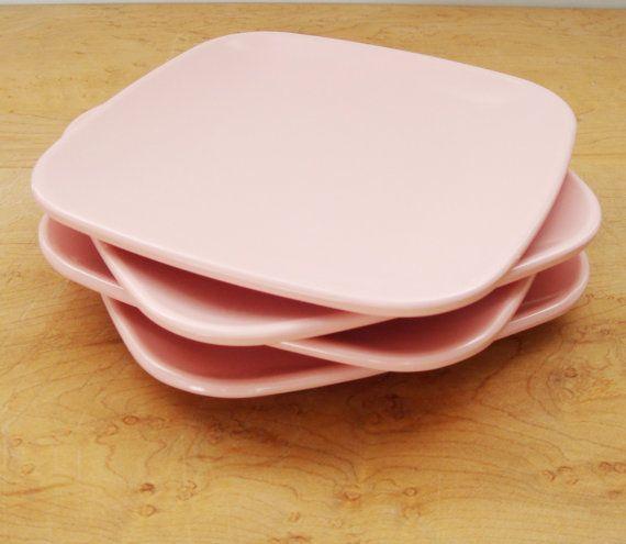 Pink Melamine Plates Brookpark Modern Design by Flourisheshome & Pink Melamine Plates Brookpark Modern Design by Flourisheshome ...