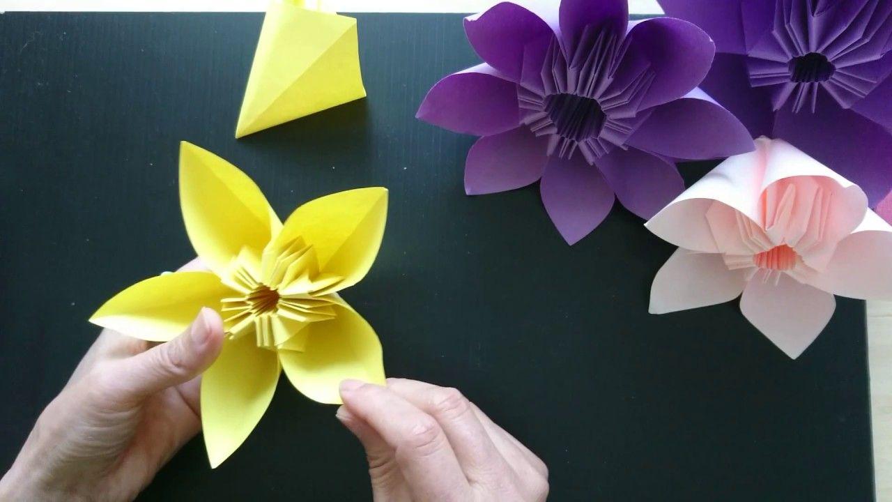 Origami Flower Bonquet | Phan Club | 720x1280