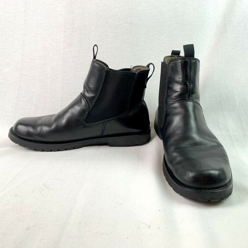 stormbuck chelsea boot for men in black