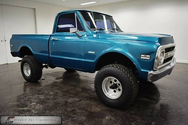 Pin By Henke Gilfillian On 67 72 Chevy C10 4x4 S Classic Chevy Trucks New Chevy Truck Classic Trucks
