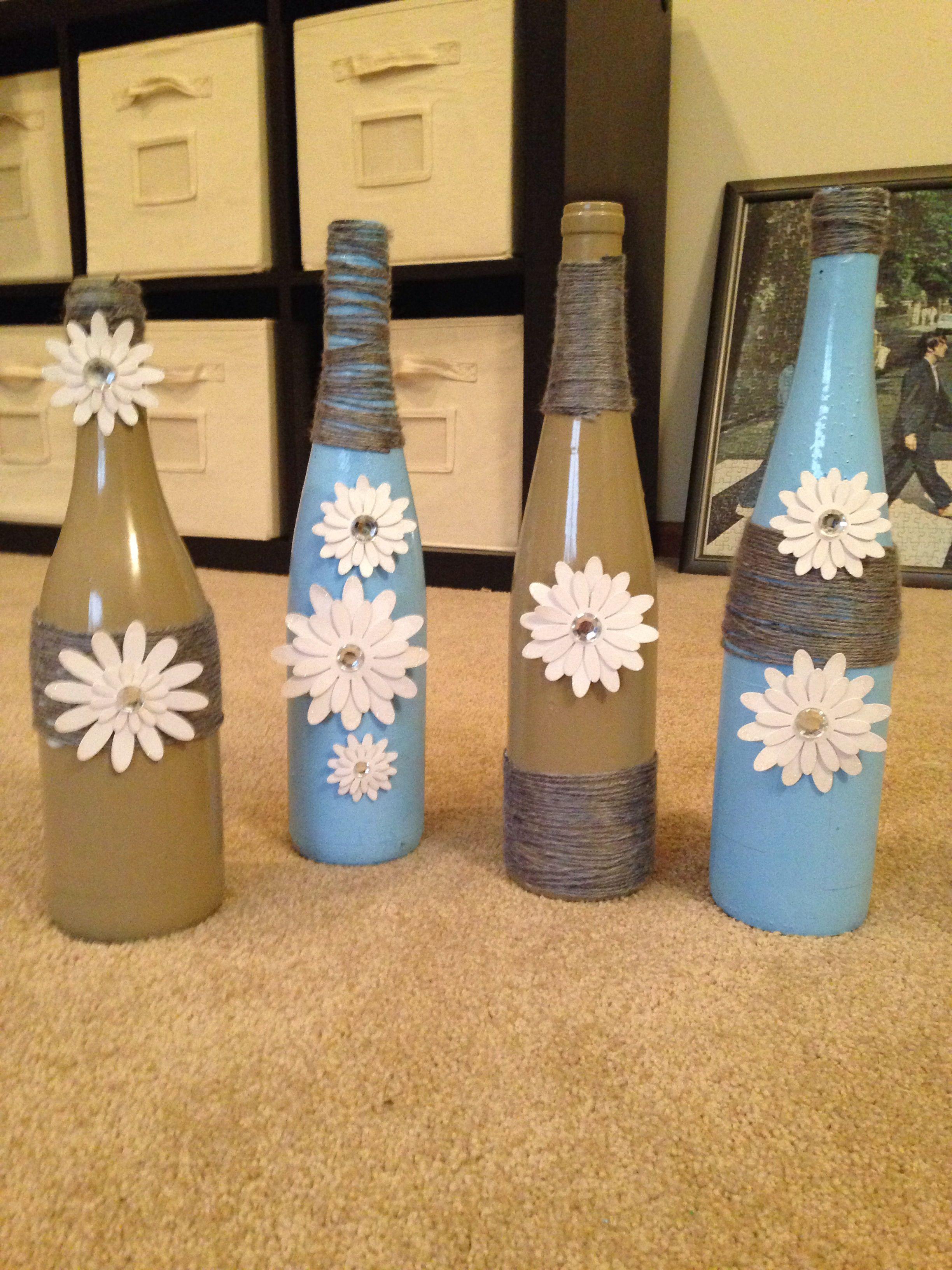 Wine bottle craft craft ideas pinterest wine bottle for Bottle craft