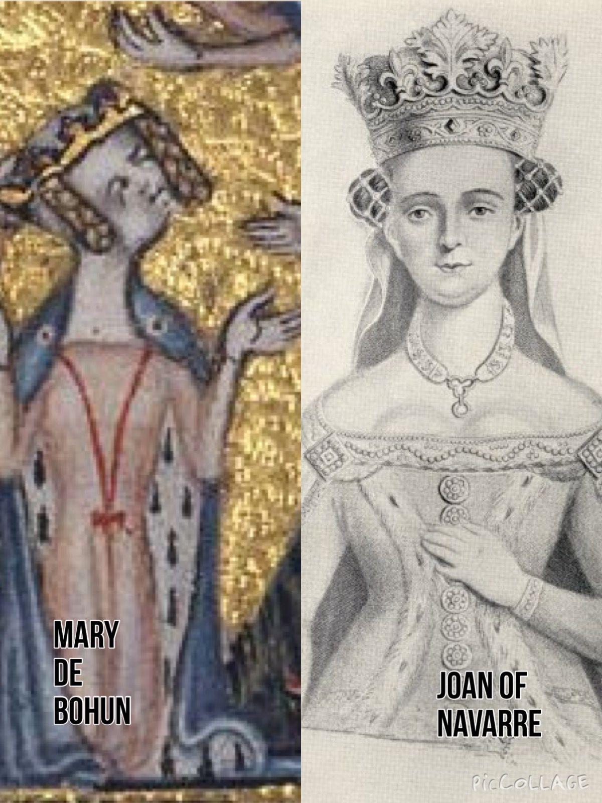 Mary de Bohun MARRIAGE King He...