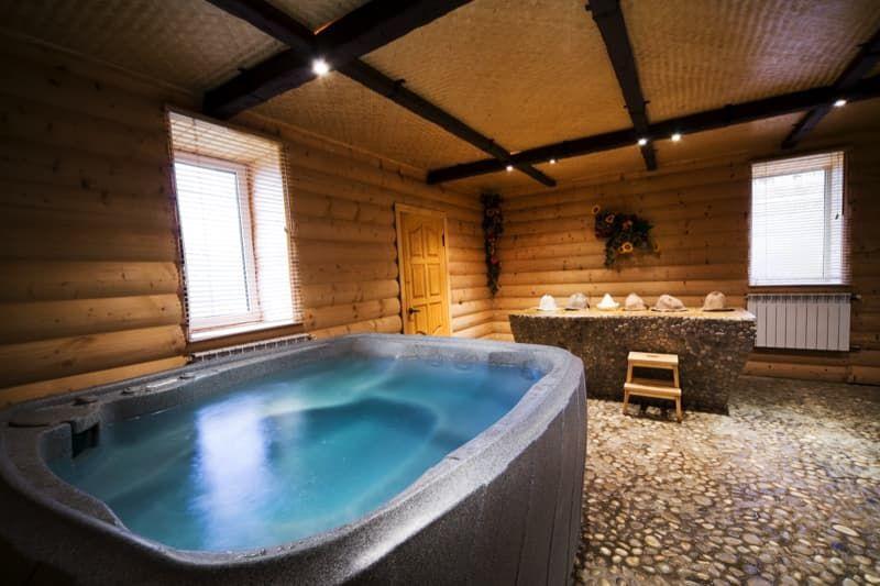 27 Home Hot Tubs And Spa Pools Indoor Hot Tub Hot Tub Hot Tubs Saunas
