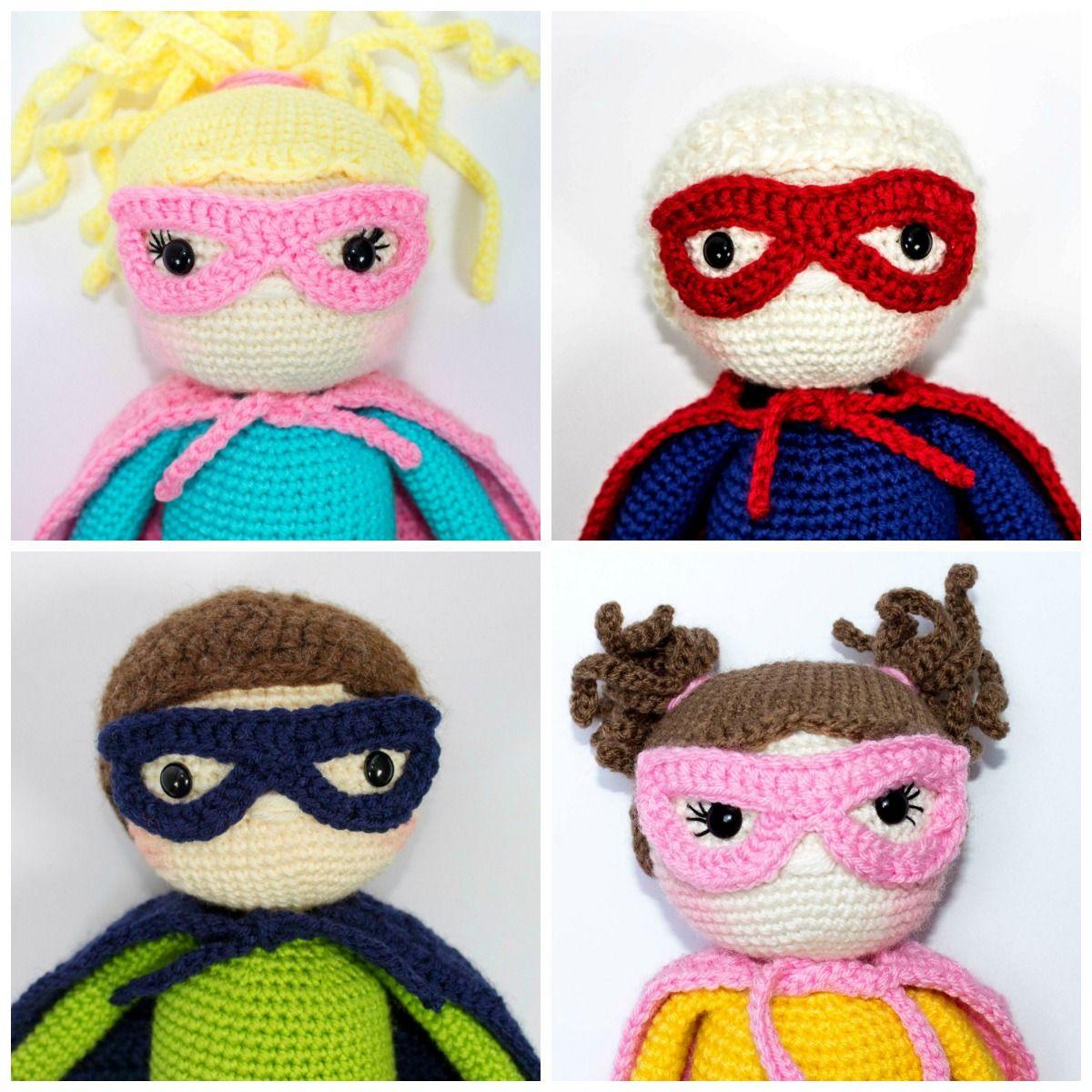 Crochet Super Hero Free Pattern | Häkelanleitung und Häkeln