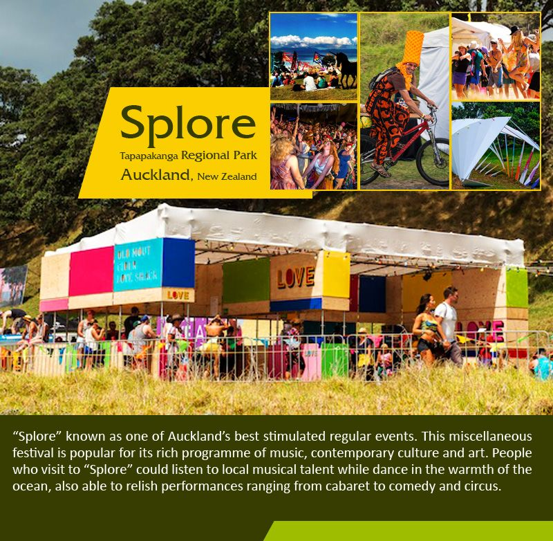 """Splore - Tapapakanga Regional Park, Auckland, New Zealand :   """"Splore"""" known as one of Auckland's #best #stimulated regular #events. This #miscellaneous #festival is #popular for its #rich #programme of #music, contemporary #culture and #art. #People who #visit to """"Splore"""" could #listen to #local musical talent while #dance in the #warmth of the #ocean. _____________________________  #splore #tapapakangaregionalpark #auckland #funevents #eventsinnewzealand #travelnewzealand #travel…"""