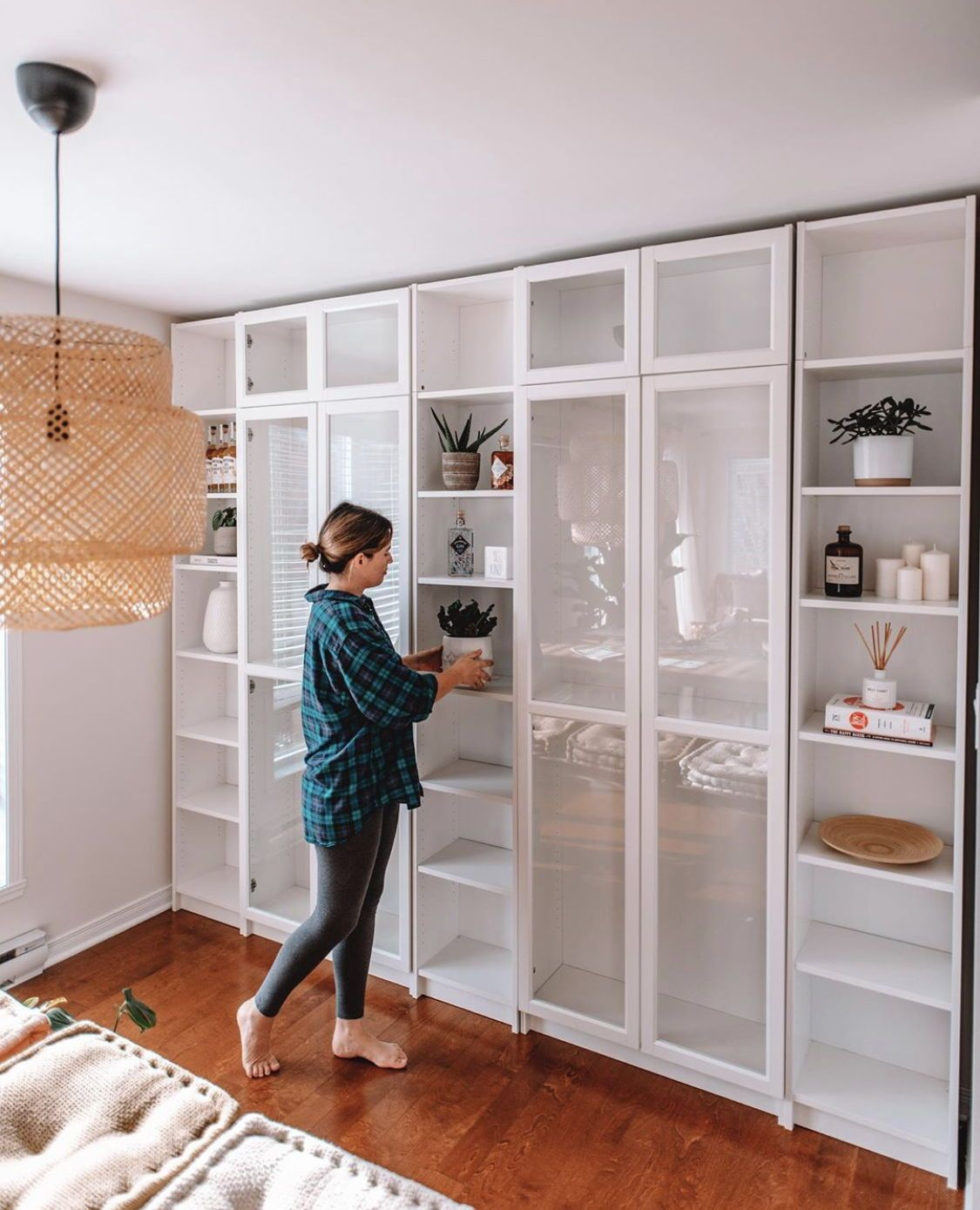 PT 4: DIY BUILT-INS USING IKEA BILLY BOOKCASES