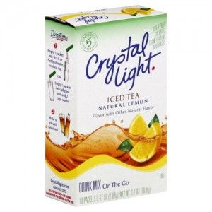 Free Crystal Light Drink Mix At Walgreen S Starting 6 29 Moneymaker Mixed Drinks Crystal Light Drink Mix Iced Tea Drinks