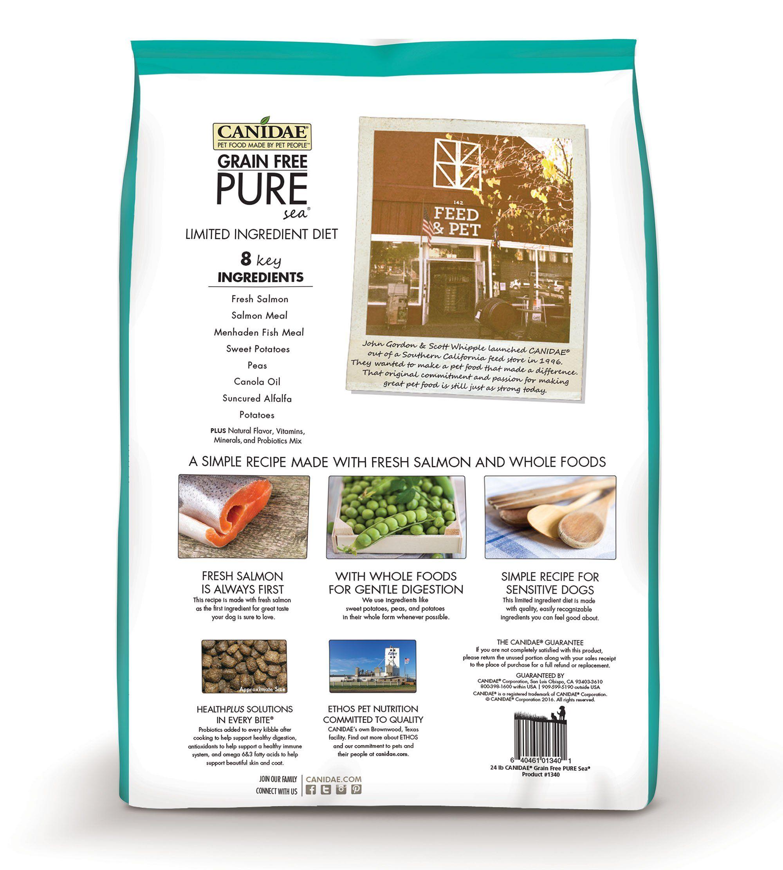 Canidae grain free pure sea dog dry formula with fresh