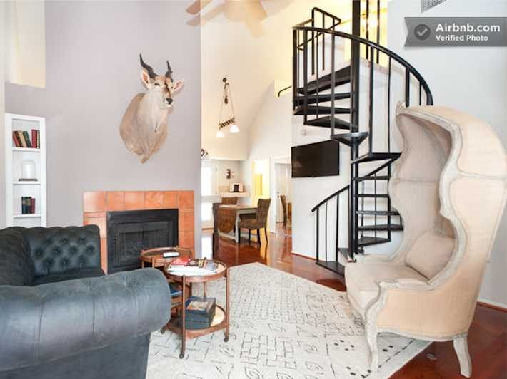 the 10 coolest airbnb rentals in austin texas austin argyle rh pinterest com au