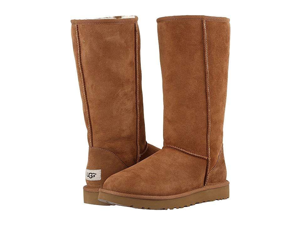 97770f3759f UGG Classic Tall II (Chestnut) Women's Boots. The Classic Tall II ...