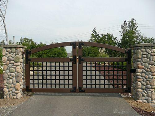 Automatic Iron Gates Google Search Driveway Gate Metal