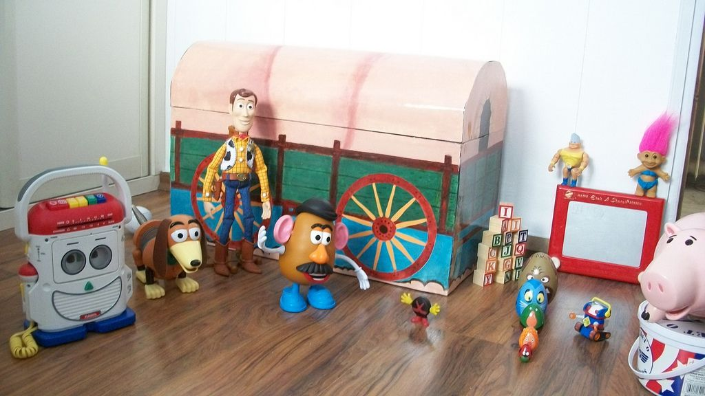 Andy S Toy Chest Toy Story Nursery Toy Chest Toy Story Bedroom