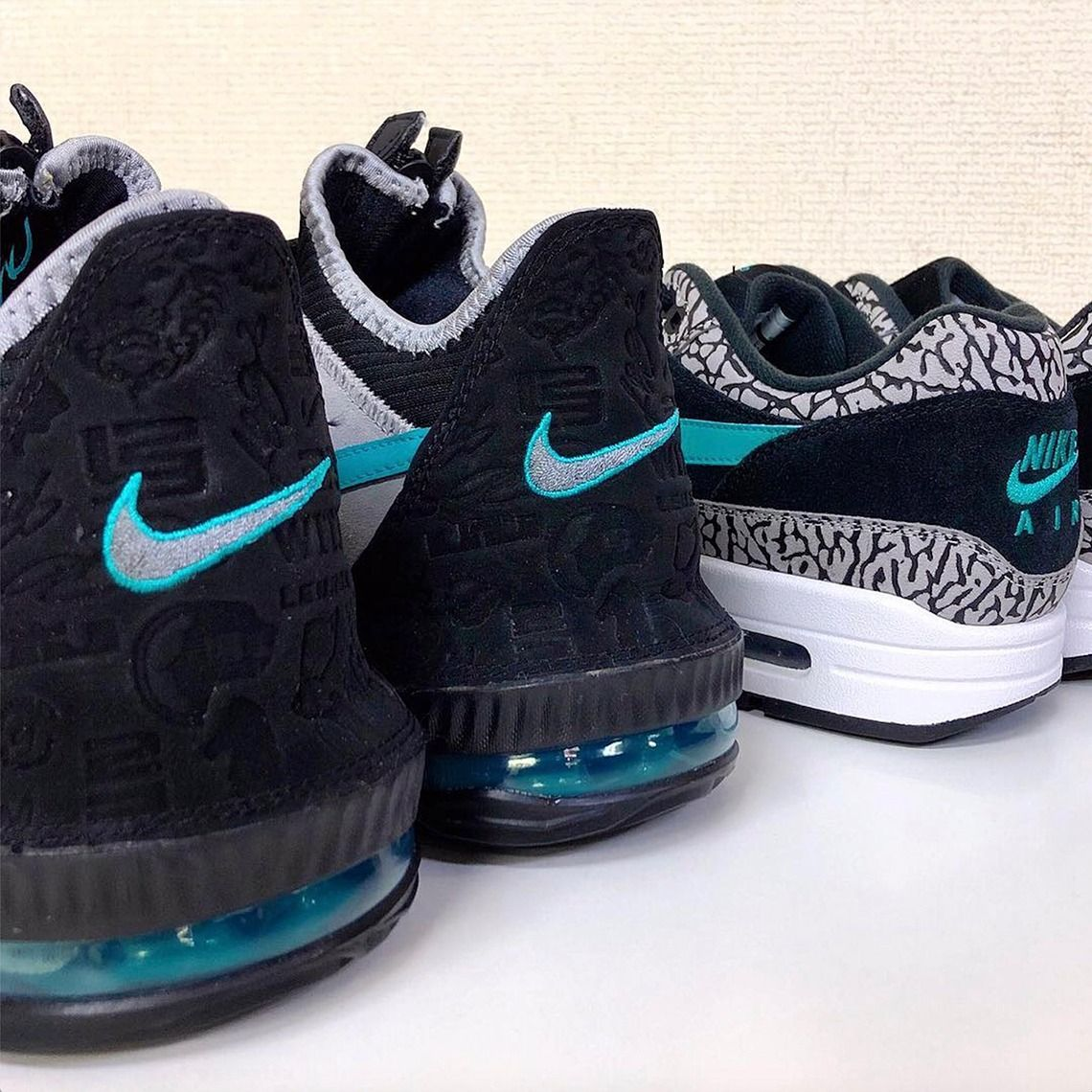 "f98a7cc6d0b Teaser  atmos x Nike LeBron 16 Low ""Clear Jade"" - EUKICKS"