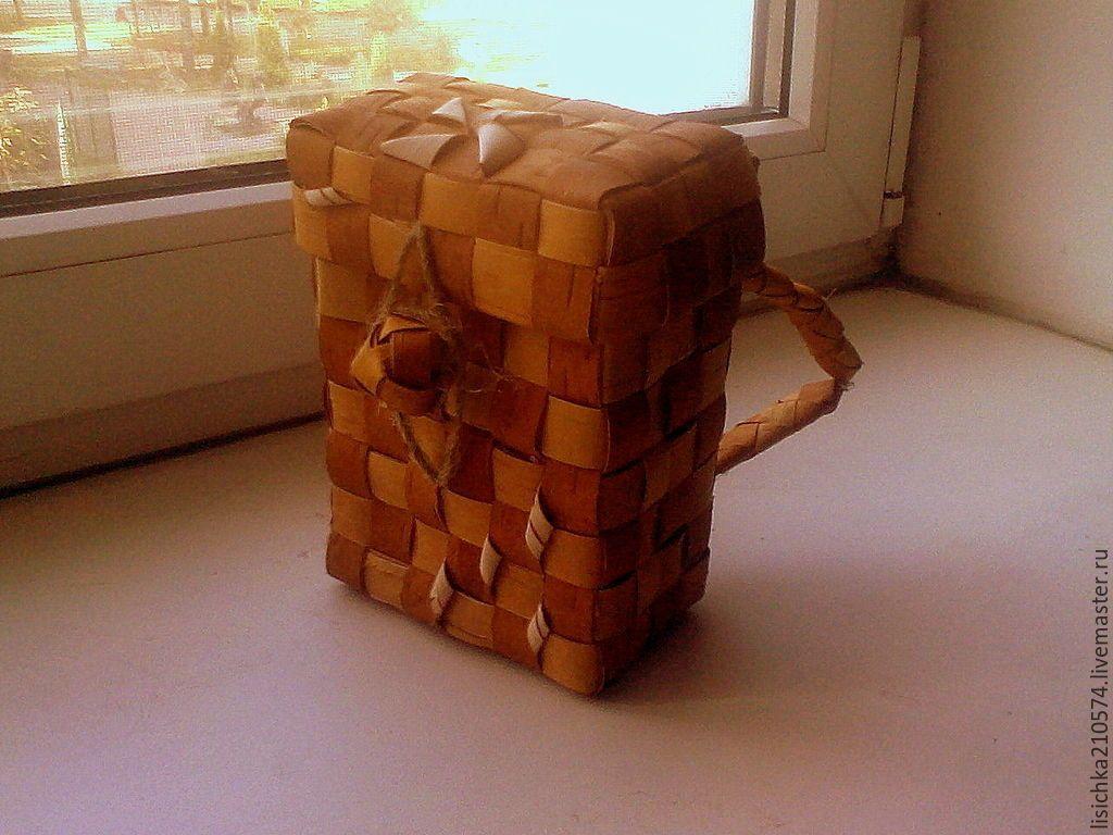 Плетение короба рюкзака пестеря рюкзак babybjorn купить