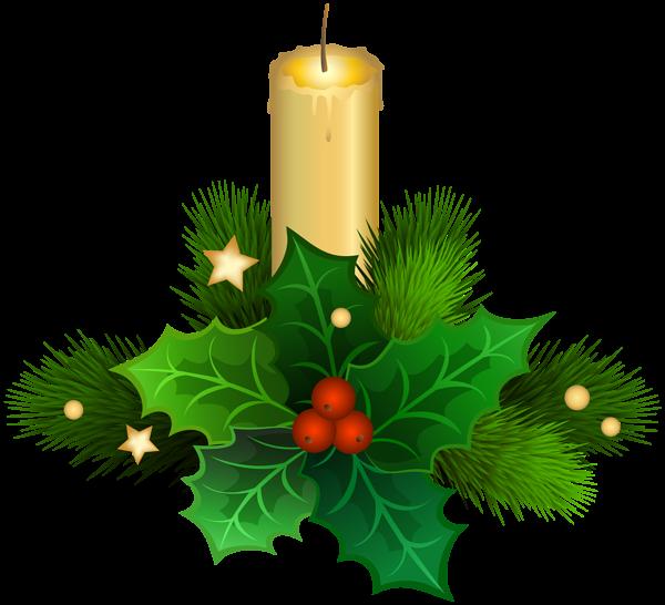 Christmas Candle Png Clip Art Image Christmas Drawing Christmas Bells Christmas Flowers