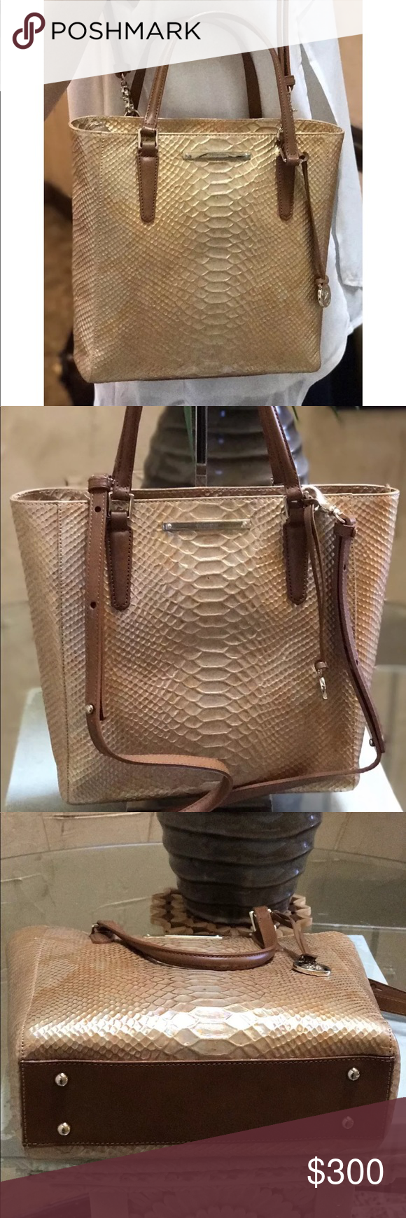 be0c654151 Brahmin Harrison Carryall Opal Seville Tote Bag Part of the Brahmin  Harrison Opal collection.made