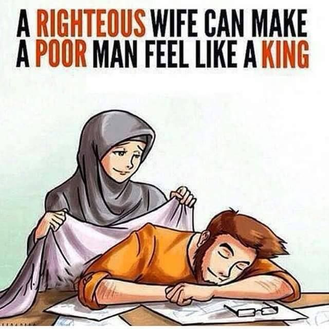 A Righteous Wife Can Make A Poor Man Feel Like A King -1877
