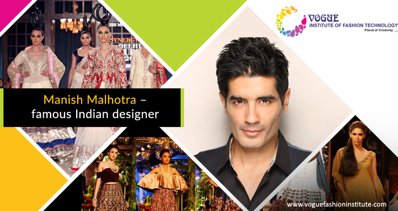 Manish Malhotra A Very Popular Indian Fashion Designer Is Known For Designing Outfits For Many Of Th Technology Fashion Indian Design Art And Design Colleges