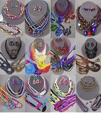 Unique Jewelry - 100 PC (50 sets) WHOLESALE LOT COSTUME / FASHION JEWELRY NECKLACE EARRINGS