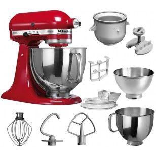 kitchenaid artisan küchenmaschine set